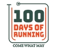 100 Days Of Running – Challenge Yourself Logo